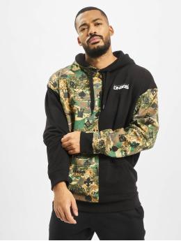 Dangerous DNGRS Hoodies Half Crown & King camouflage