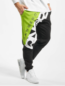 Dangerous DNGRS Jogging kalhoty Pivot čern