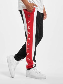 Dangerous DNGRS Jogging kalhoty Fossa  čern