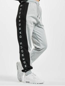 Dangerous DNGRS joggingbroek Weare grijs