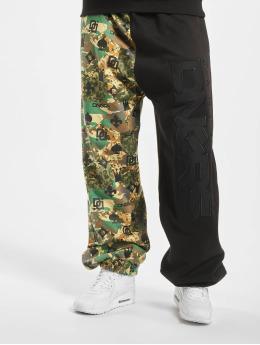 Dangerous DNGRS Jogginghose Half Crown & King camouflage