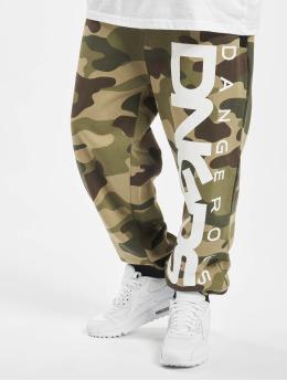 Dangerous DNGRS Jogginghose Classic camouflage