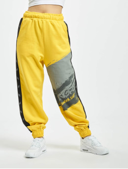 Dangerous DNGRS Anger Sweatpants Yellow