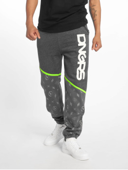 Dangerous DNGRS Bear Sweatpants Castlerock Jasmin Grey