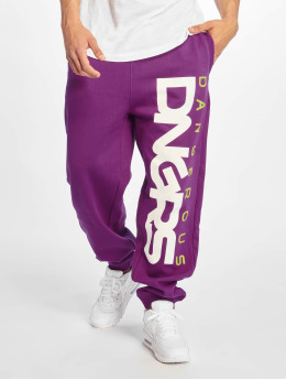 Dangerous DNGRS Classic Sweatpants Violet Off White