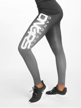 Dangerous DNGRS Leggings/Treggings Trooper svart