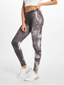 Dangerous DNGRS Leggings/Treggings Smoke svart