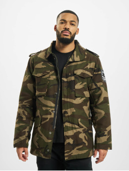 Dangerous DNGRS Manteau hiver Peter Two in One camouflage