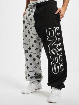 Dangerous DNGRS Pantalón deportivo Half Crown & King gris