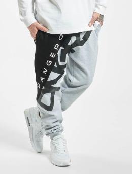Dangerous DNGRS Pantalone ginnico Pivot grigio