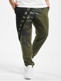 Dangerous DNGRS Pantalone ginnico Pivot  oliva