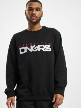 Dangerous DNGRS Pullover Beweare schwarz