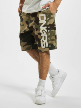 Dangerous DNGRS Shorts Classic  mimetico