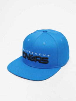 Dangerous DNGRS snapback cap Classic blauw