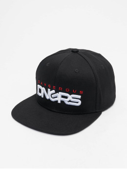 Dangerous DNGRS Base Snapback Cap Black/Red