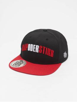 Dangerous DNGRS Snapback Caps Rapostirb  czarny