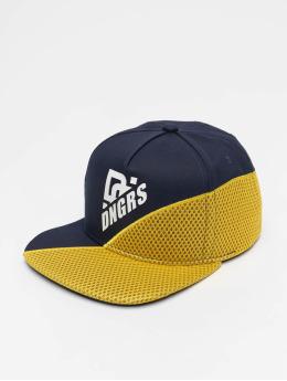 Dangerous DNGRS Snapback Caps Brick niebieski