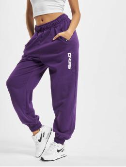 Dangerous DNGRS Spodnie do joggingu Leila fioletowy