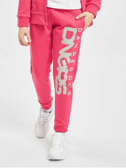 Dangerous DNGRS Spodnie do joggingu Classic Junior pink