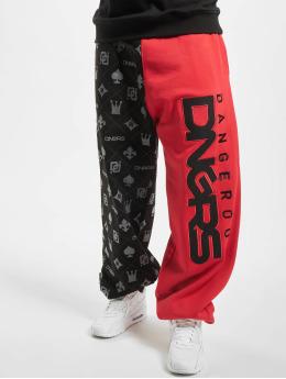 Dangerous DNGRS Sweat Pant Half Crown & King black