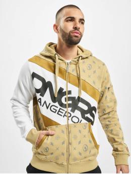 Dangerous DNGRS Sweatvest Bear beige