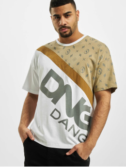 Dangerous DNGRS T-Shirt Bear  blanc