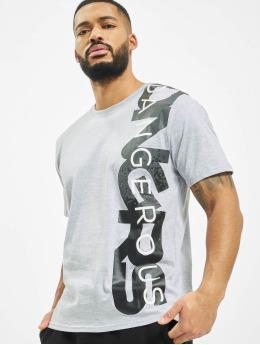 Dangerous DNGRS t-shirt Hyena grijs