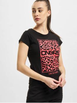Dangerous DNGRS T-Shirt Pardus  noir
