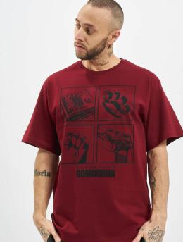 Dangerous DNGRS T-shirt x Gomorrha rosso