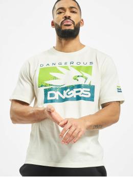 Dangerous DNGRS T-Shirt Leuz weiß