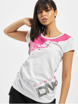 Dangerous DNGRS T-Shirt Anger  white