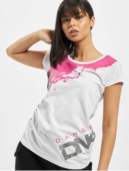 Dangerous DNGRS T-shirts Anger  hvid