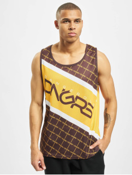 Dangerous DNGRS Tank Top Woody brun