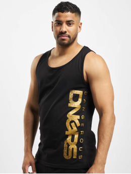 Dangerous DNGRS Classic Tank Top Black/Golden