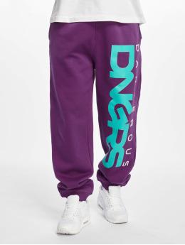 Dangerous DNGRS Verryttelyhousut Classic purpuranpunainen