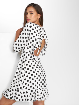 Danity Paris Kleid Dot weiß