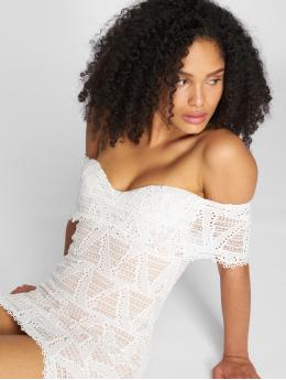 Danity Paris Kleid Pakolar weiß
