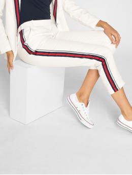 Danity Paris Stoffbukser Stripe hvit