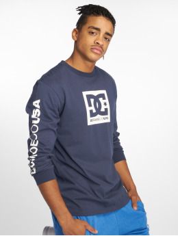DC Camiseta de manga larga Square Star 2 azul