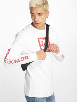 DC Longsleeve Square Star 2 white