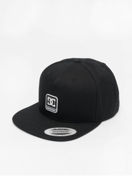 DC Snapback Cap Snapdragger schwarz