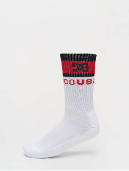 DC Socks Babonew white