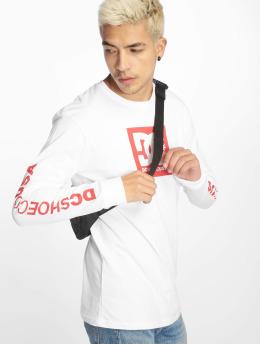 DC T-Shirt manches longues Square Star 2 blanc