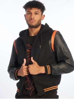 De Ferro Кожаная куртка Bb Orange Art черный