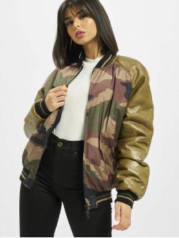 De Ferro Collegejackor Strong Army Bsj kamouflage