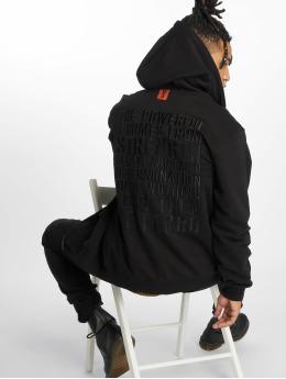 De Ferro Hoodies con zip Dniello nero