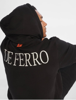 De Ferro Hoody Arm B Hood schwarz