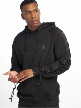 De Ferro Hoody Bless You Black zwart