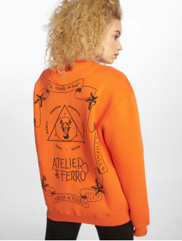 De Ferro Pullover Orange Fantasy Crew orange