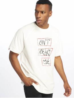 De Ferro T-shirt Can't Reach Me bianco